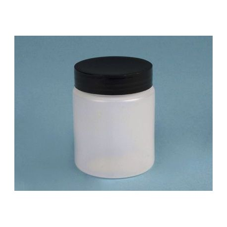 Pot plàstic PEHD amb tapa rosca i obturador. Capacitat 1000 ml