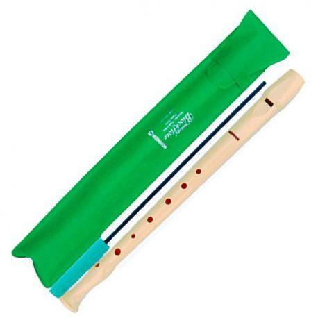 Flauta dolça soprano Hohner 9508. Plàstic 1P i digitació alemanya