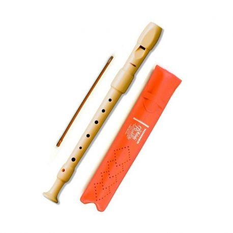 Flauta dolça soprano Hohner 9516. Plàstic 2P i digitació alemanya