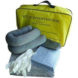 Kit absorción derrames químicos Spill Kit SFL0050SJ. Bolsa nylon