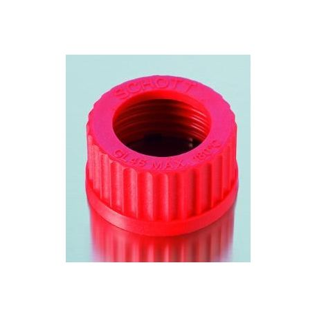Capuchón plástico PBT unión roscada GL-32 D-2922708. Paso 20 mm