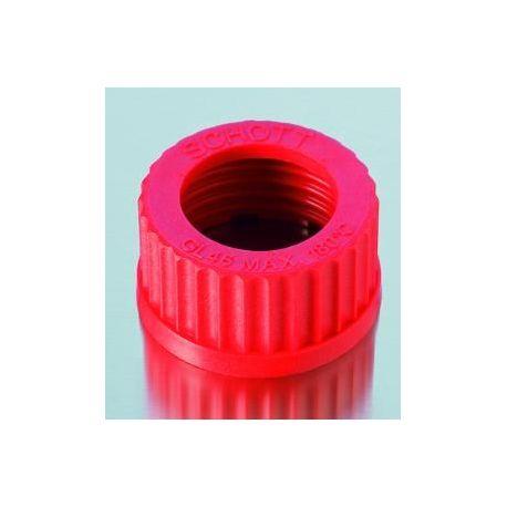 Capuchón plástico PBT unión roscada GL-45 D-2922710. Paso 34 mm