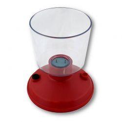 Electrolizador simple DA-102007. Electrodos platino (Pt)
