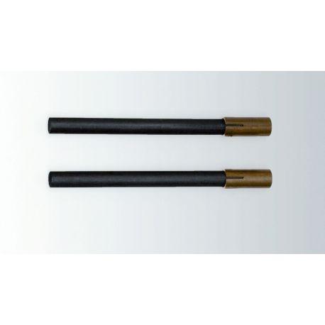 Elèctrodes voltàmetre Hofmann V-18397. Carbó (C)
