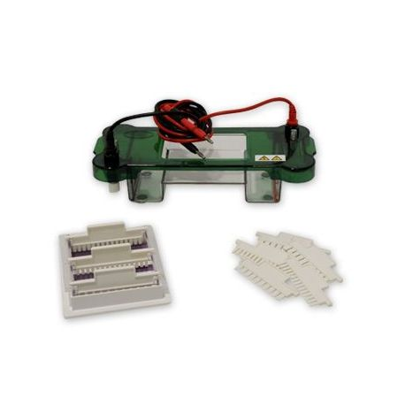 Cubeta electroforesi horitzontal Nahita ZFD013. Gel 100x78 mm
