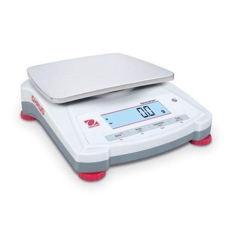 Balanza básica Navigator NV-1201. Capacidad 1200 gramos en 0'1 g