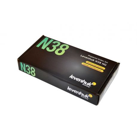 Preparacions microscòpiques N38-NG. Joc variat 38 preparacions