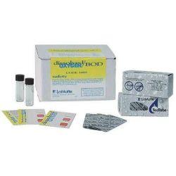 Prueba química Testab 5889. Oxigeno disuelto/BOD. Caja 100 tests