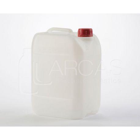 Bidó apilable plàstic PEHD natural J25L. Rectangular 25 litres
