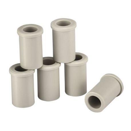 Adaptadores cabezal tubos 1'5-2'0 ml D-11 mm FC-30130886. Bolsa 6 piezas