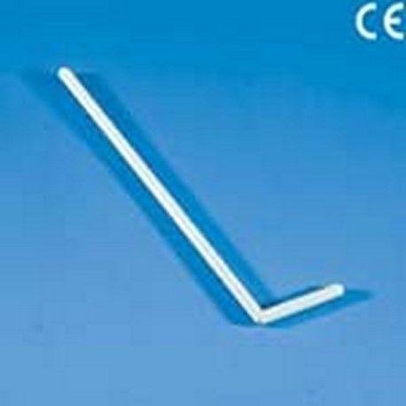Nanses extensions plàstic PP estèrils. Capsa 1000x1 uni