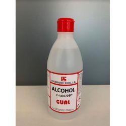 Alcohol etílic 96 graus antisèptic Gual. Flascó 500 ml