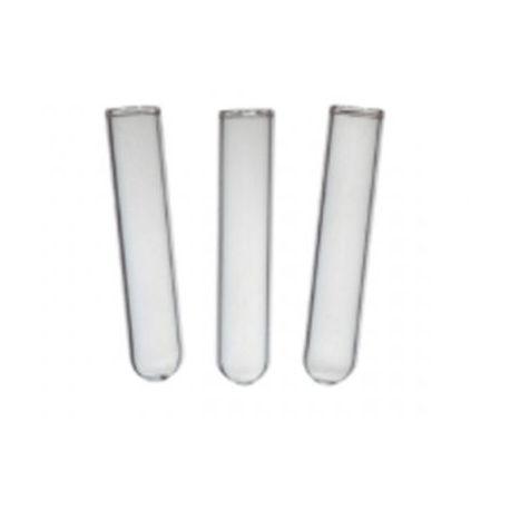 Campanas Durham vidrio corriente 6x40 mm. Paquete 100 unidades