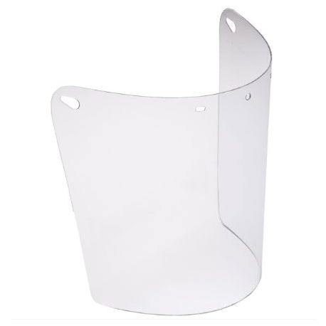 Visor recambio pantalla protección facial C-324-RG/N. Policarbonato inclolor tractado