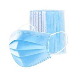Mascarillas quirúrgicas desechables polipropileno 3 capas. Caja 50 unidades