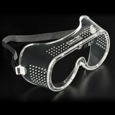 Gafas protección policarbonato PC D-19385. Cinta elástica