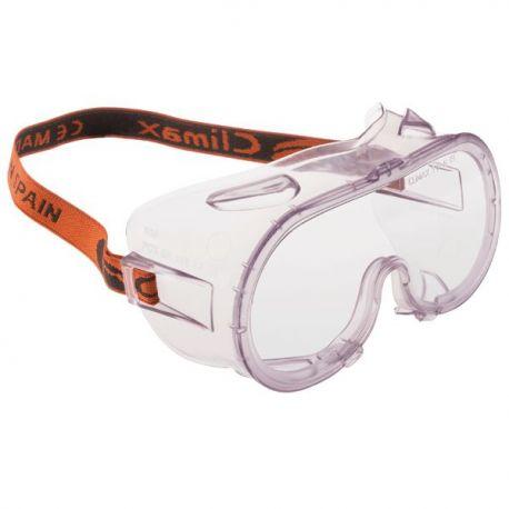 Gafas protección policarbonato PC C-539C. Cinta elástica