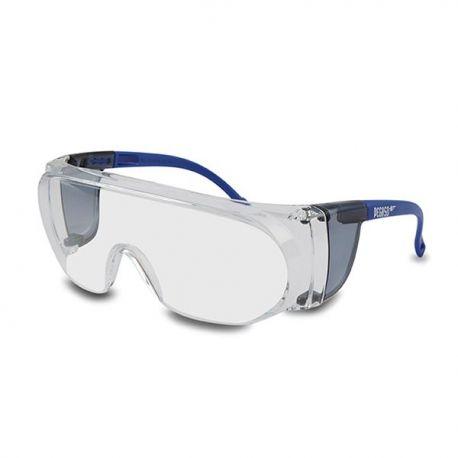 Gafas protección policarbonato PC-FUV P-B3. Varillas ajustables