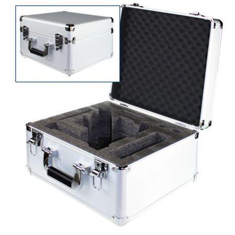 Maletín estereomicroscopios Edublue ED-4300. Aluminio 360x360x240 mm