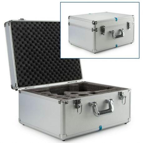 Maletín microscopios Ecoblue-Bioblue BB-4300. Aluminio 430x370x240 mm