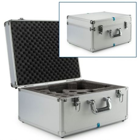 Maletín microscopios Labblue BB-9900. Aluminio