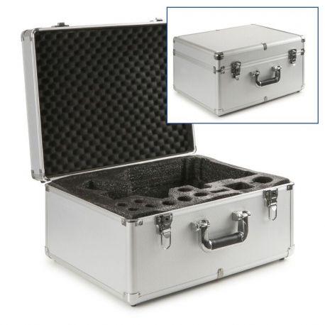 Maletín microscopios Oxion OX-4300. Aluminio