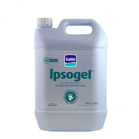 Gel mans hidroalcohòlic antisèptic Ipsogel+. Capsa  4x5000 ml