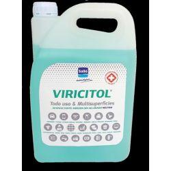 Desinfectant superfícies viricida Viricitol. Garrafa 5000 ml