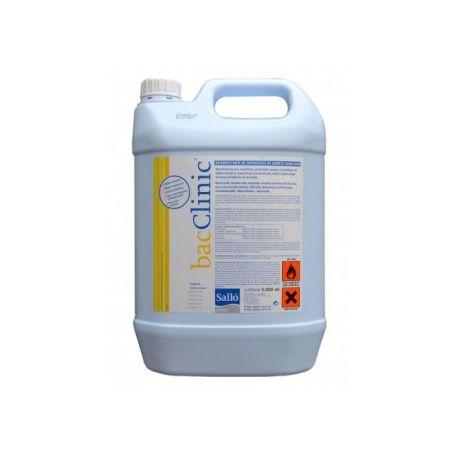 Desinfectante superfícies clínico Bacclinic. Garrafa 5000 ml