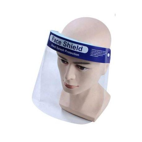 Pantalla protección facial. Visor PET compacto. Caja 100 unidades
