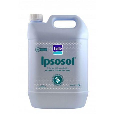 Solución manos hidroalcohólica antiséptica Ipsosol+. Caja 4x5000 ml