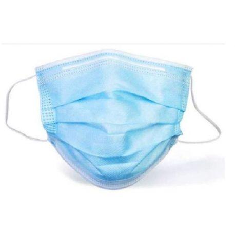 Mascaretes quirúrgiques un sol ús polipropilè 3 capes tipus IIR. Capsa 50 unitats