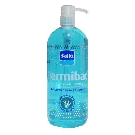 Jabón de manos antiséptico bactericida Dermibac. Caja 20x500 ml