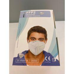 Mascaretes autofiltrants partícules FFP2 sense vàlvula. Capsa 20 unitats