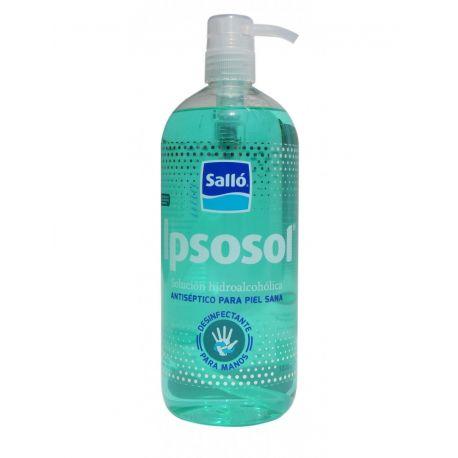Solución manos hidroalcohólica antiséptica Ipsosol+. Dosificador 1000 ml