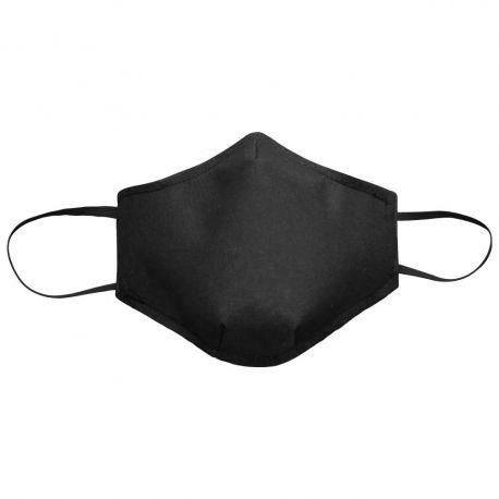 Mascarillas reutilizables negras WR.6.003-N. Pack 10 unidades