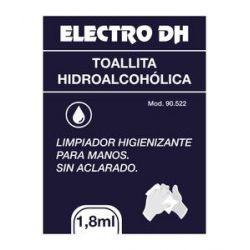 Tovalloletes hidroalcohòliques higienitzants per mans. Bossa 200 unitats