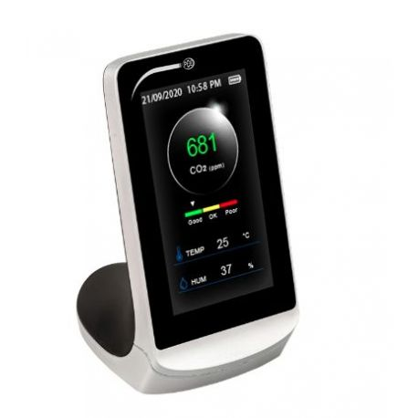 Medidor calidad aire para CO2 CMM-5. Rango 0-5000 ppm