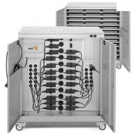 Armario cargador ordenadores SDX-1000. Superior 950x550x1100 mm
