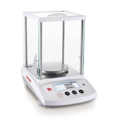 Balanza analítica Ohaus PR-124-EX. Capacidad 120 gramos en 0'0001 g