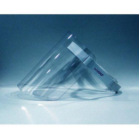 Pantalla protección facial. Visor óptico PMMA compacto